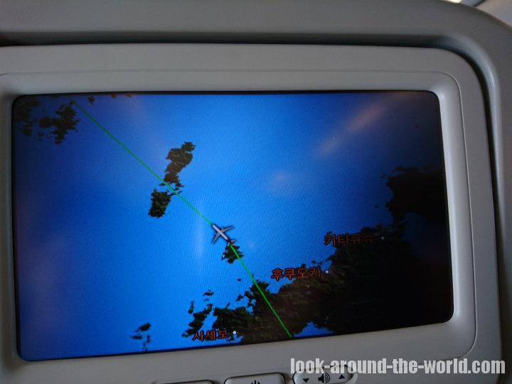 アシアナ航空A321-200エコノミーOZ157宮崎〜仁川