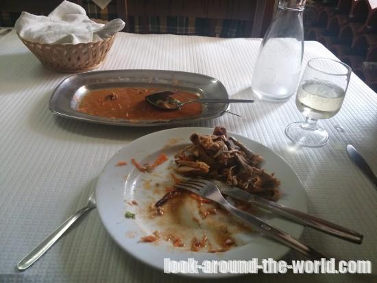 シントラの激旨食堂Restaurante Casa dos Frangos