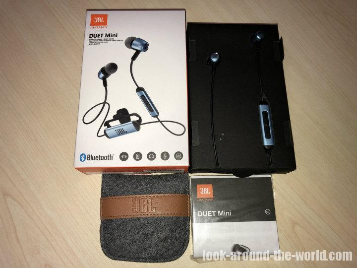 Bluetoothイヤホン JBL DUET MINI BT