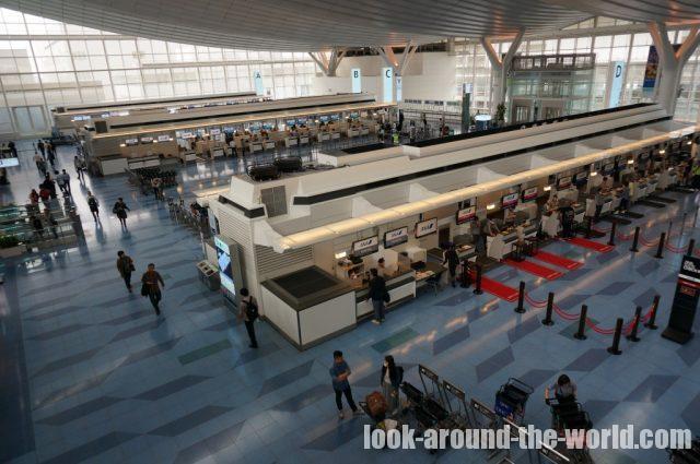 2015年5月の羽田空港国際線ターミナル