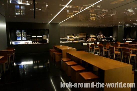 Cathay Pacific Business Class Lounge at The Bridge