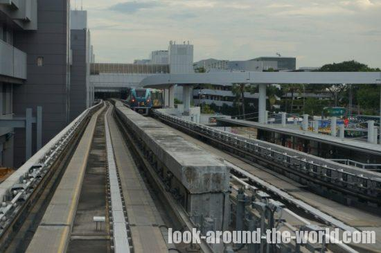 シンガポールチャンギ空港スカイトレイン