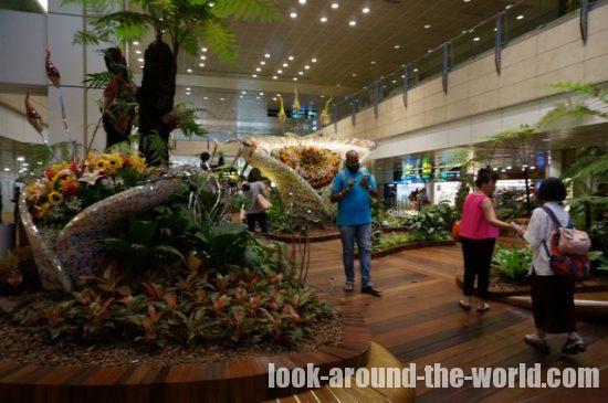 シンガポールチャンギ空港ターミナル2