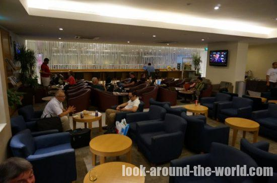 SATSプレミアラウンジ シンガポールチャンギ空港ターミナル2