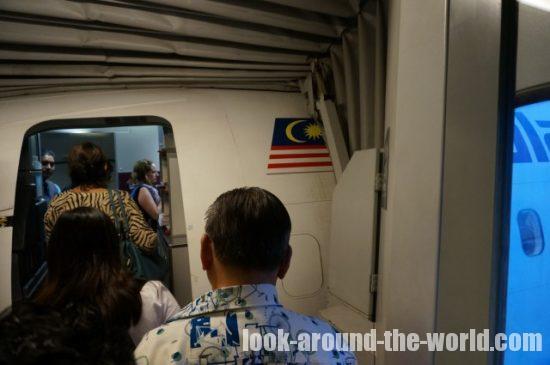 マレーシア航空MH616搭乗