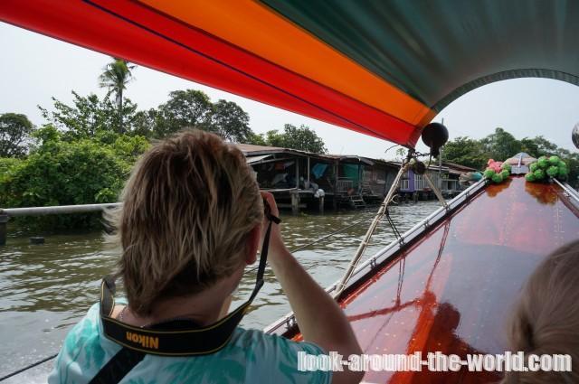 タリンチャン水上マーケットボートツアー