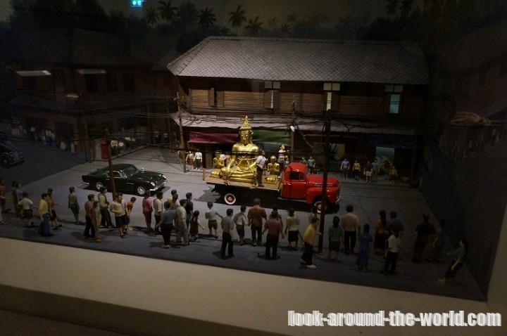 バンコクの黄金仏寺院ことワット・トライミットに行ってみた
