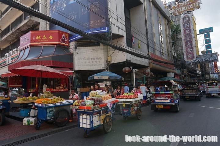 サンペン市場とクロントム市場