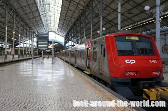 リスボンからシントラへ電車で行く方法