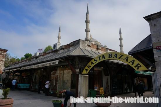 イスタンブールのキュチュック・アヤソフィア・ジャミィ周辺を散歩☆2015年5月ポルトガル・トルコ旅行記(20)