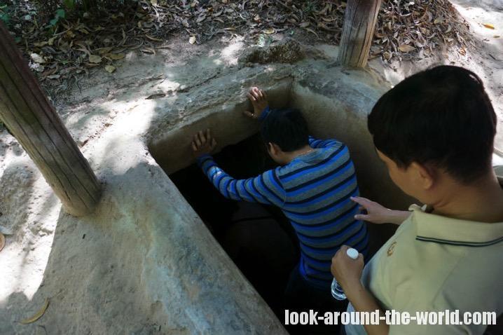 クチトンネルに現地オプショナルツアーで行ってみた
