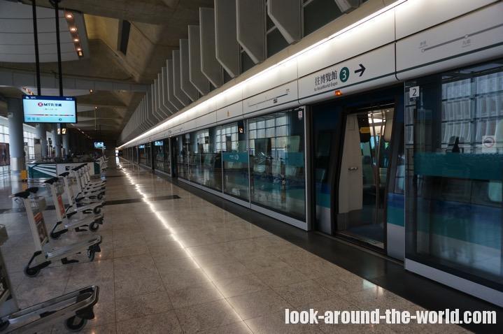 初めてでもできる!香港駅でインタウンチェックインを利用する方法