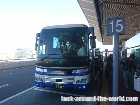 THE成田アクセスの車内