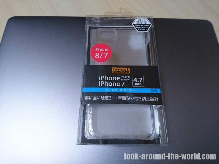 iPhone8を保護する透明アクリルケースとバンカーリング(iRing)の使用レビュー