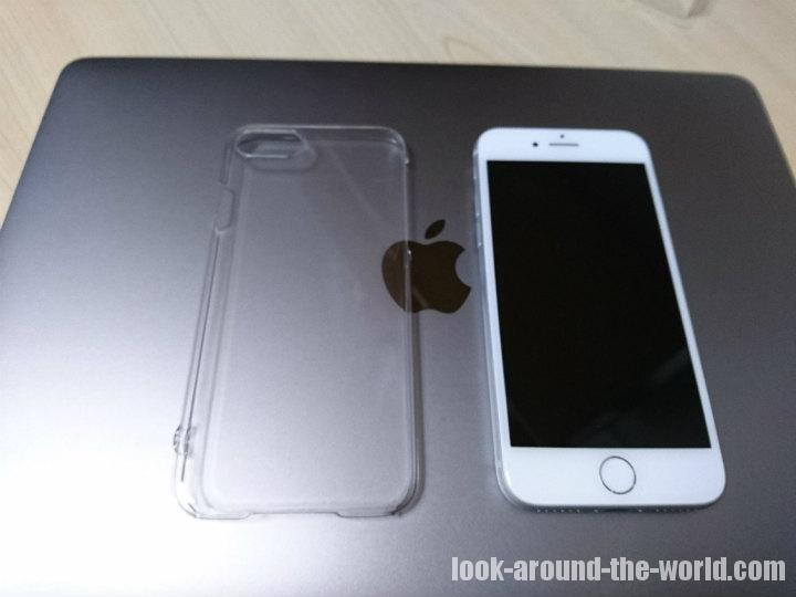 iPhone8を保護する透明ケースとバンカーリングの使用リポート