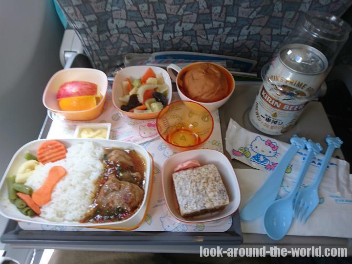 ハローキティジェットで行く羽田〜台北松山の旅