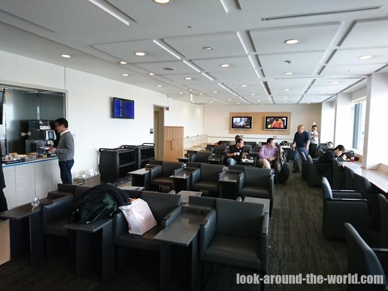 関西国際空港のANAラウンジ(国際線)