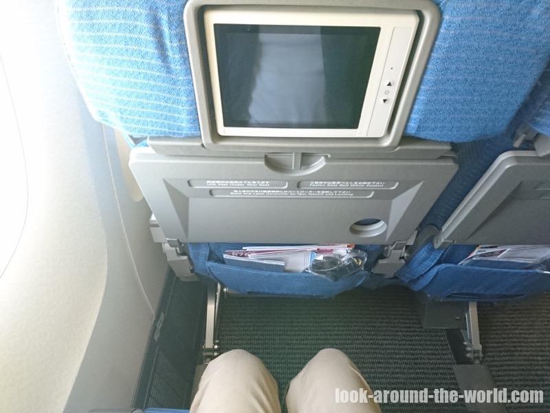 ANA 767-300ER エコノミークラスのシート NH873