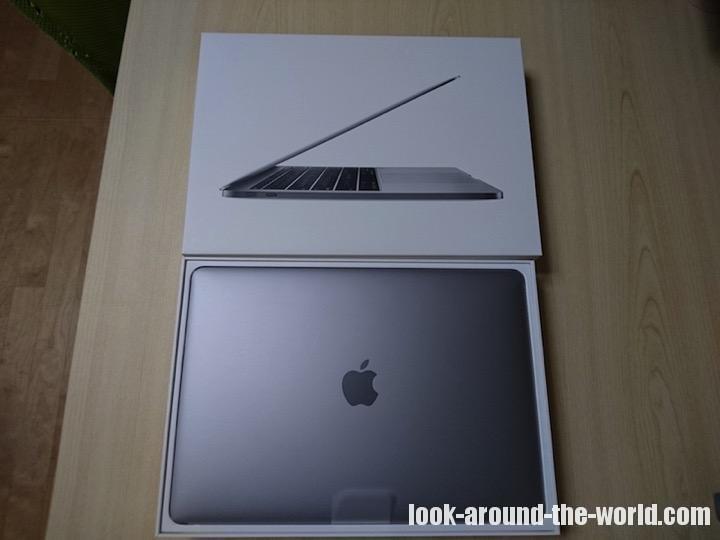 MacBook Pro 2017 13インチ購入&レビュー