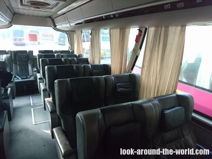 南寧・埌東バスターミナルでハノイ行きのバスチケットを購入