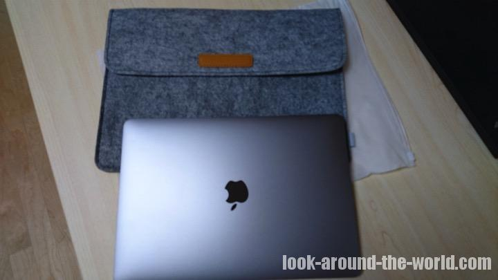 MacBook Pro 2017にピッタリのオシャレケース