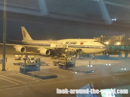 エアチャイナ B737-800エコノミーCA979北京~バンコク搭乗記