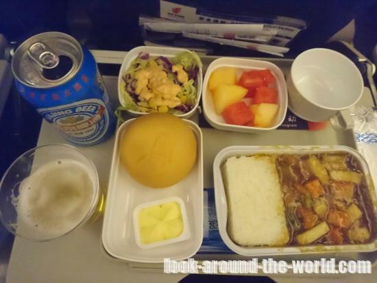エアチャイナ機内食 北京~バンコク エコノミークラス
