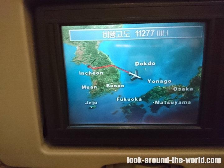 アシアナ航空A330-300エコノミーOZ178仁川〜羽田