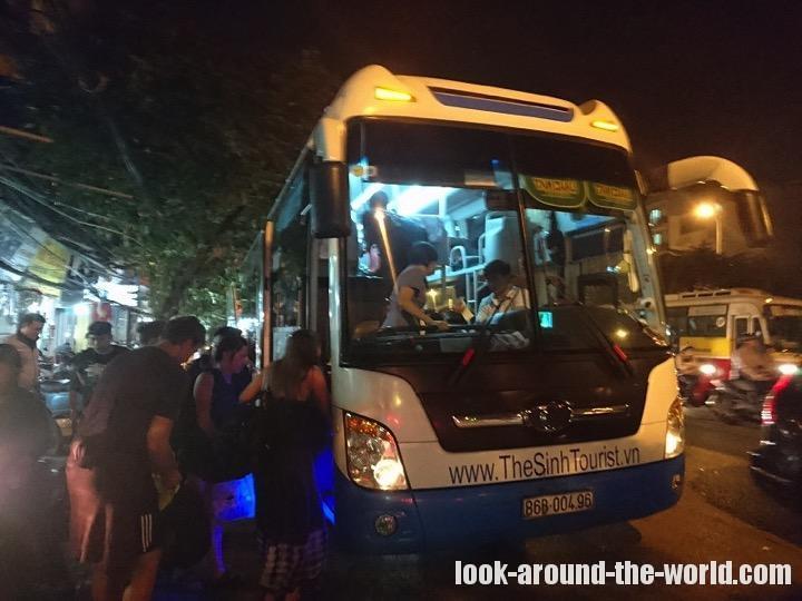 ベトナム・シンツーリストのスリーピングバス