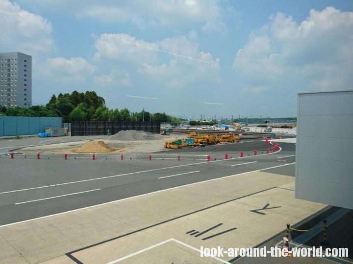 成田空港第3ターミナルサテライトの工事写真