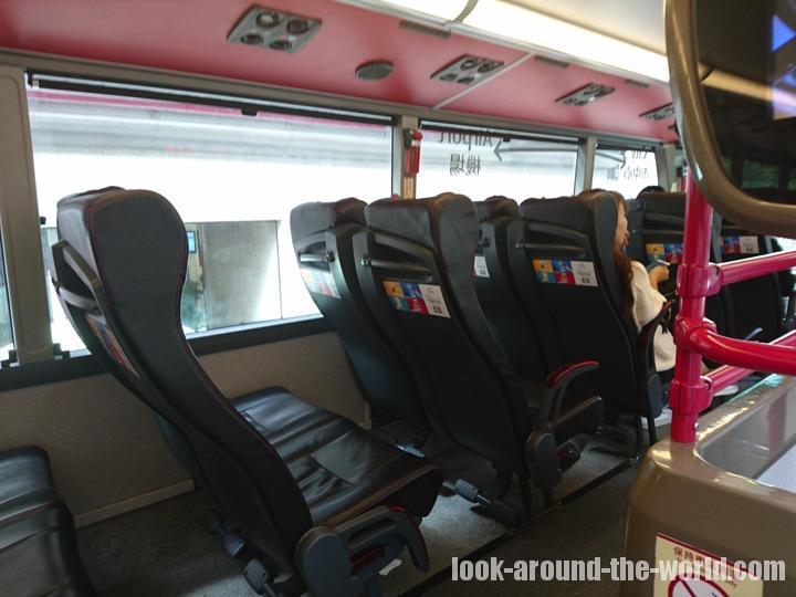 九龍エリアから香港国際空港へA21バス
