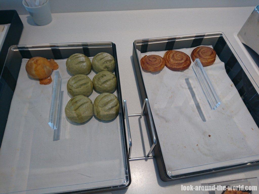 羽田空港国際線ターミナルのANAラウンジの食事