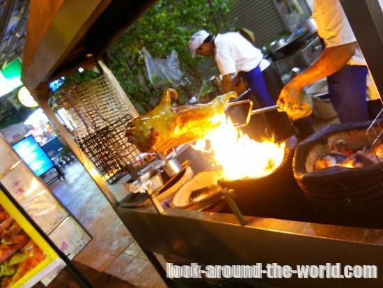 パタヤのセカンドロードのレストラン南星