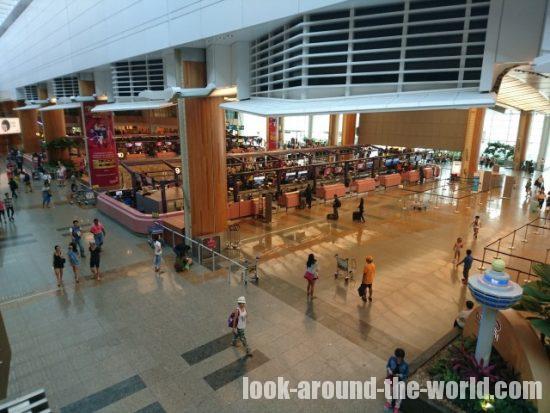 シンガポール・チャンギエアポート ターミナル1