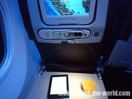 マレーシア航空MH616機内食