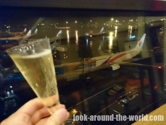 クアラルンプール国際空港のマレーシア航空ゴールデンラウンジ