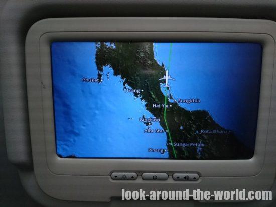 マレーシア航空 MH796 クアラルンプール~バンコク