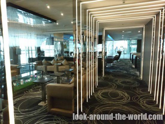スワンナプーム国際空港 エバー航空ラウンジ