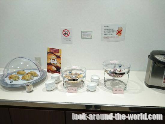 鹿児島空港のスカイラウンジ菜の花は試食もできる最高のラウンジだった