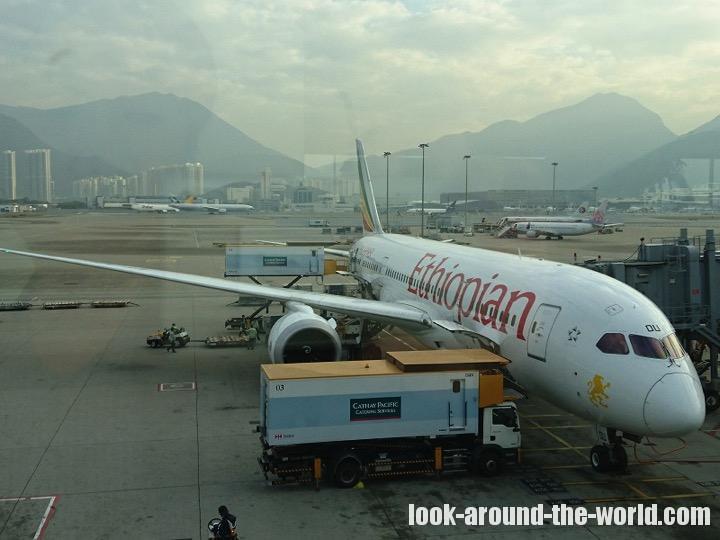 エチオピア航空搭乗記