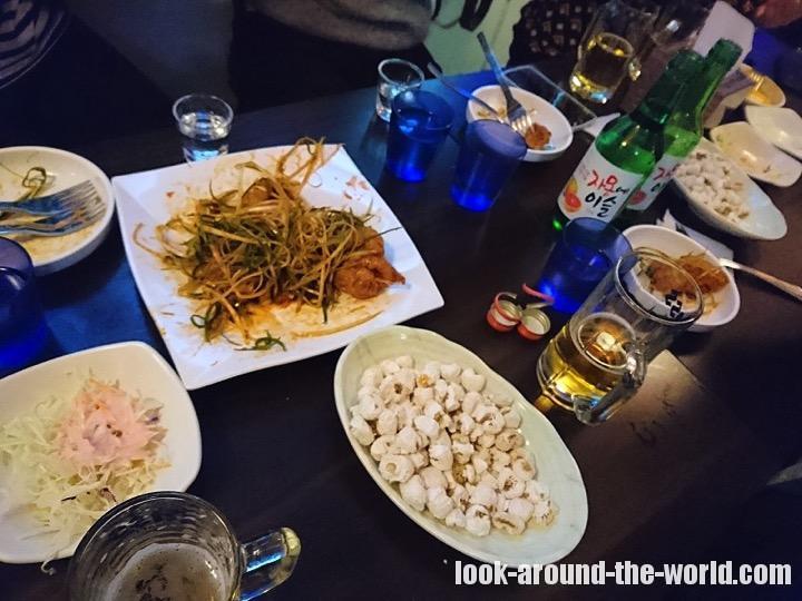 【ソウルオフ会】陳玉華ハルメ元祖タッカンマリとヤンニョムチキンを食らう