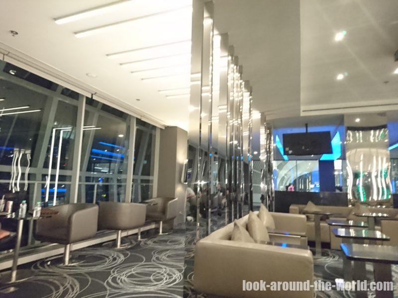 スワンナプーム国際空港のエバー航空ラウンジ