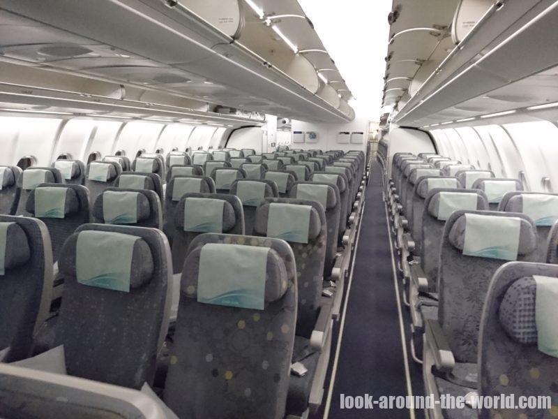 エバー航空A330-200エコノミーBR206バンコク〜台北搭乗記