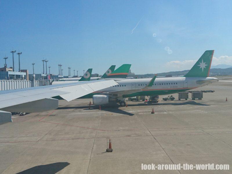 エバー航空A330-200エコノミーBR198台北〜成田搭乗記