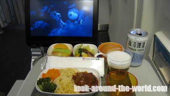 エバー航空B777-300ERエコノミーBR391台北~ホーチミン搭乗