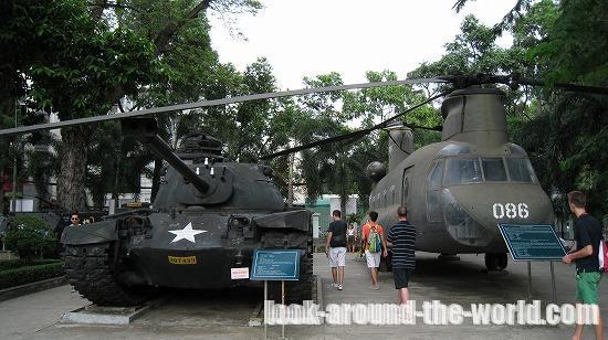 ホーチミンの戦争証跡博物館