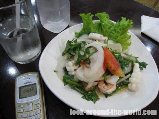 スワンナプーム国際空港の劇高レストラン