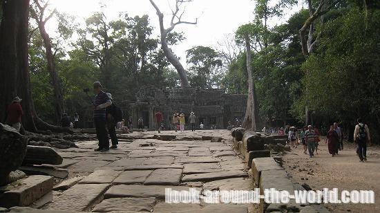 世界遺産アンコール遺跡タ・プローム