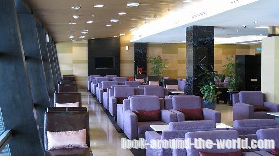 クアラルンプール国際空港ロイヤルシルクラウンジ