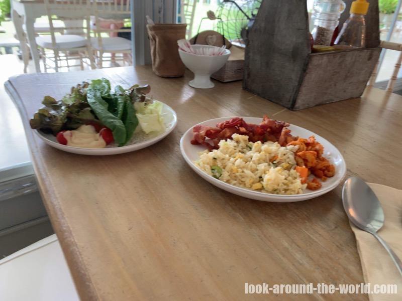 ヴィラ・ラ・フローラ Villa la Floraの朝食